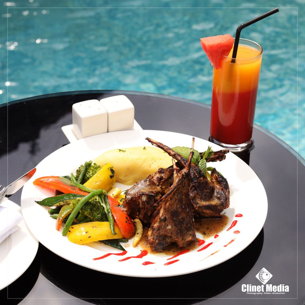 Food by the Pool by Clinet Media